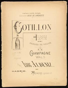 Cotillon, album de danses de salon
